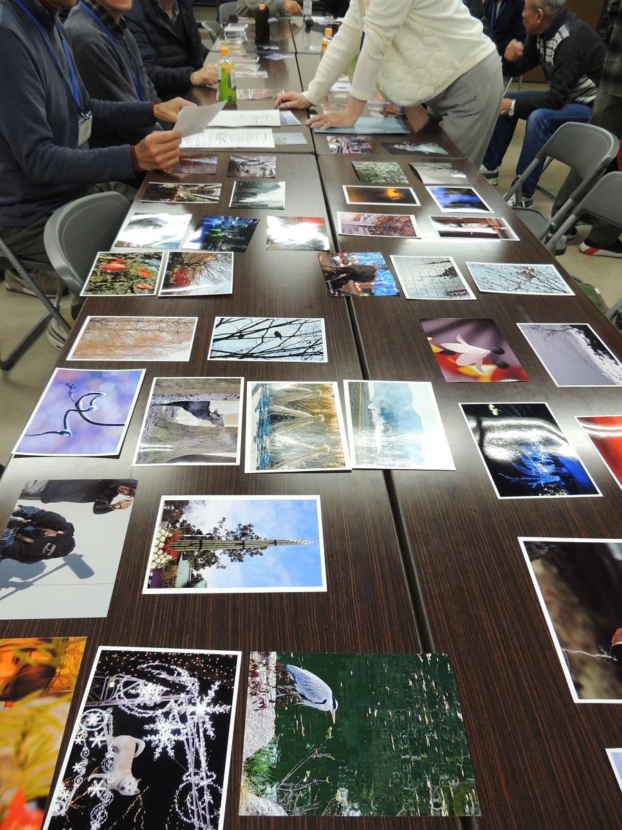 ④写真の展示と見学2