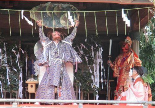 二荒山神社 天の岩戸の舞