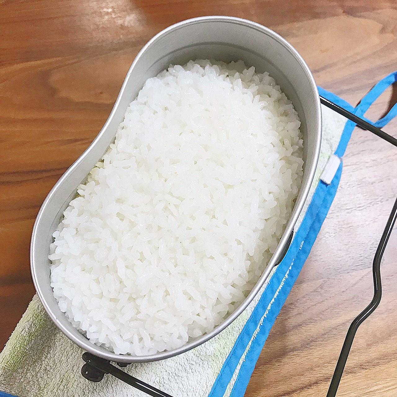 飯盒 白米