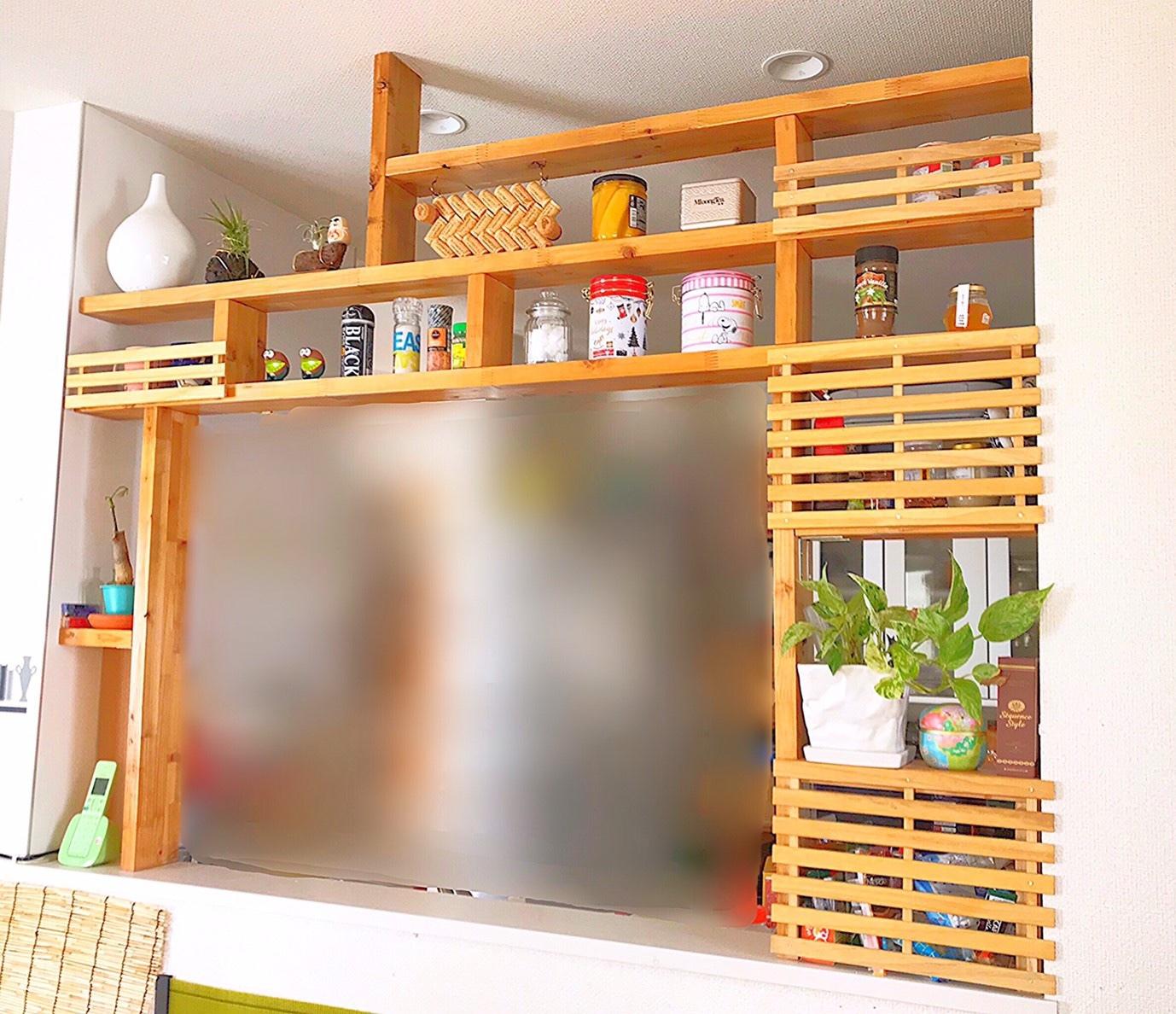 キッチンカウンター DIY