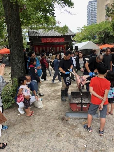 20191012鳥飼八幡宮秋季大祭 '秋のまる焼き祭り'2