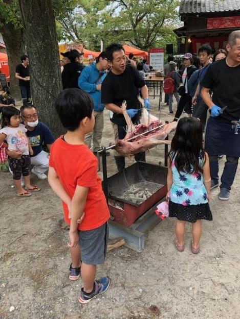 20191012鳥飼八幡宮秋季大祭 '秋のまる焼き祭り'3