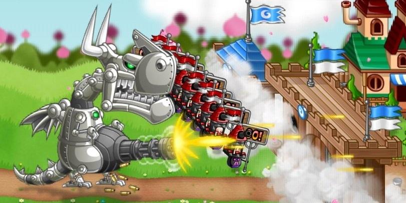 ドラゴン ドラ メタル 城