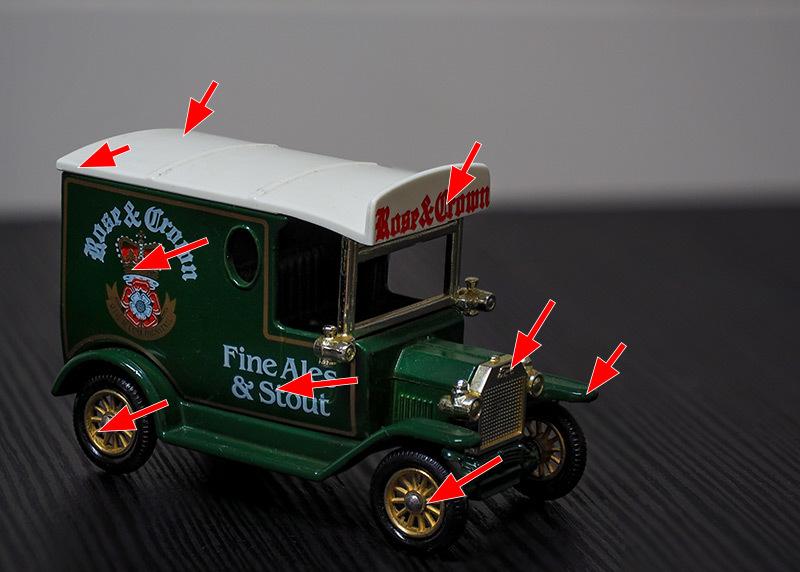 フォードT型トラック ミニカー