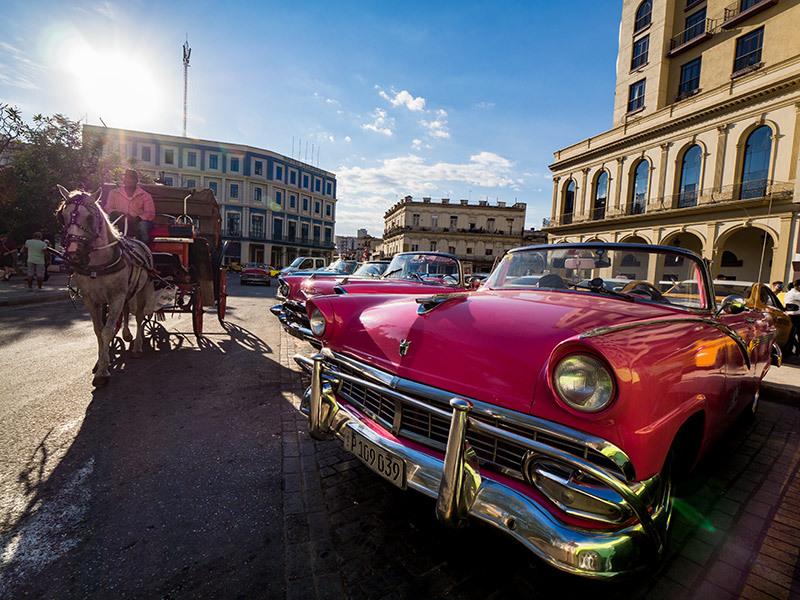 50年代のアメ車inキューバ