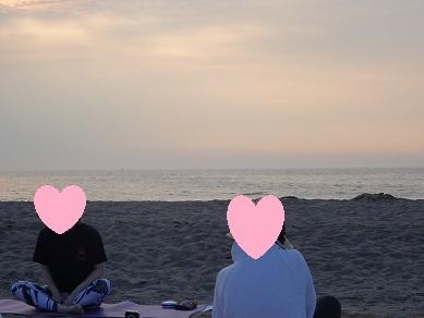 サンセットビーチヨガ