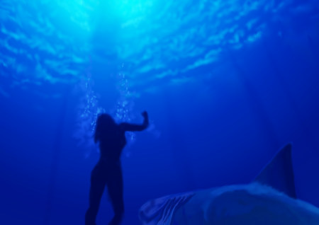映画「海底47m(かいてい47めーとる)」観た