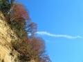 崖から糸雲
