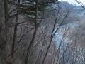 冬枯れの谷