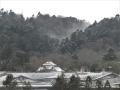 雪の青葉山