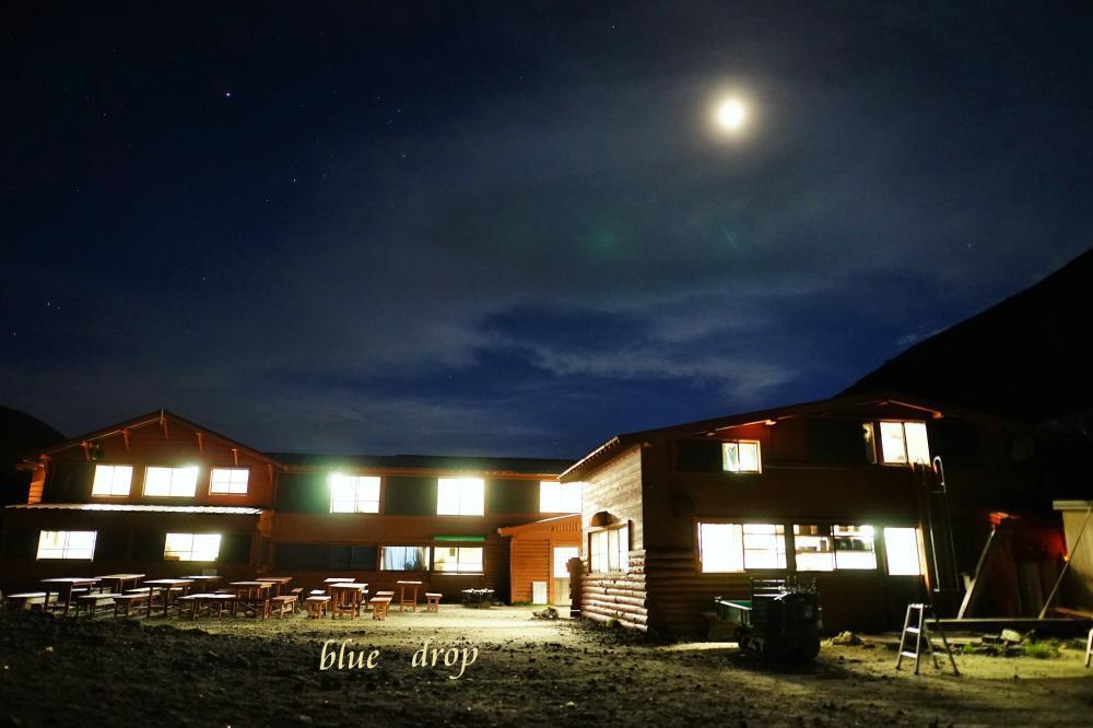 山小屋の夜*