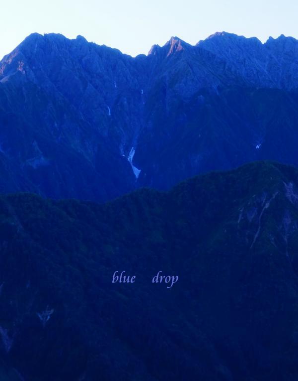 滝谷の朝*
