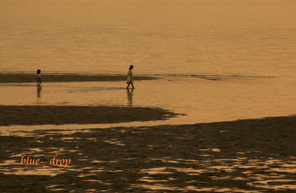 水辺で過ごす時間