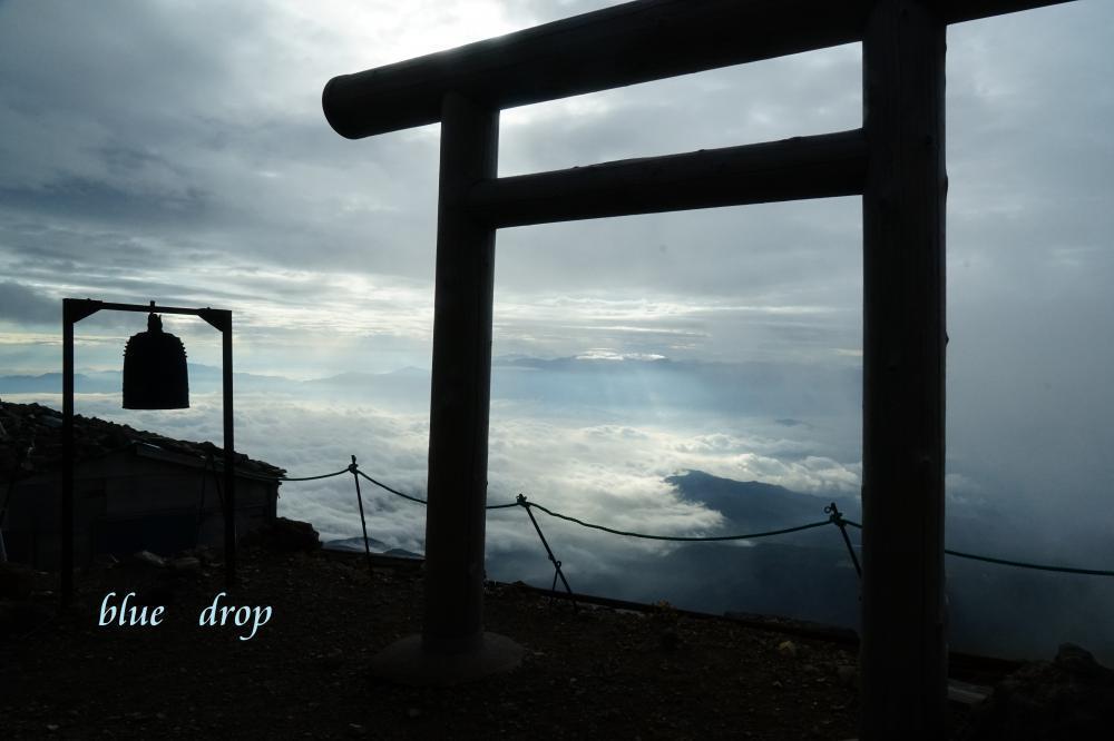 信仰の山の朝*