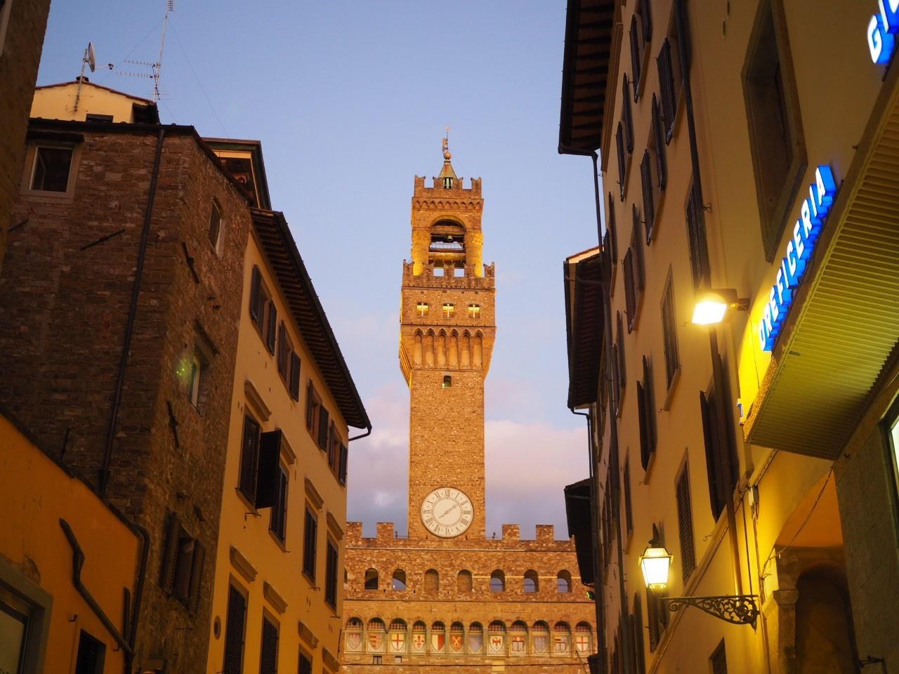 フィレンツェ到着