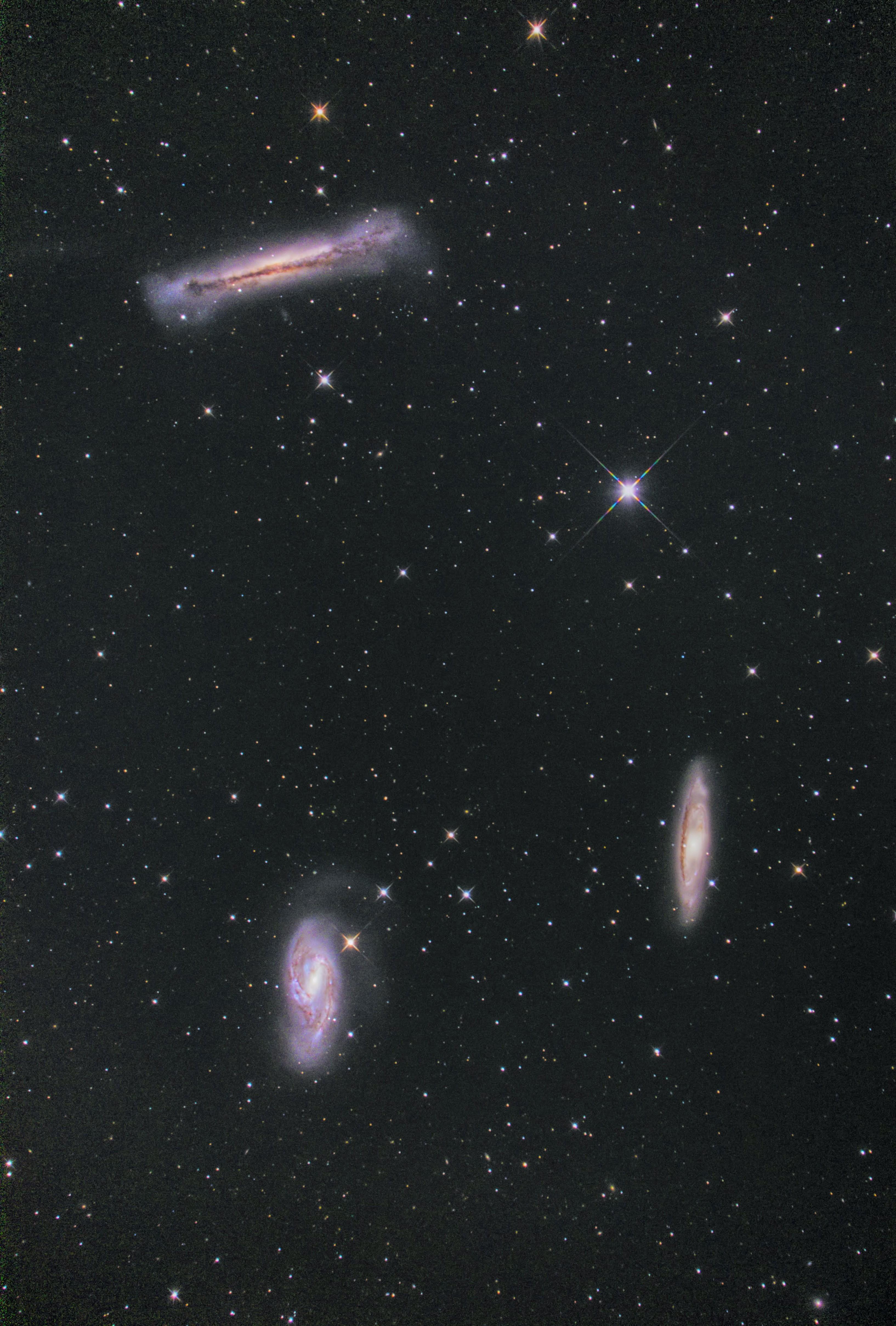 しし座 トリオ銀河