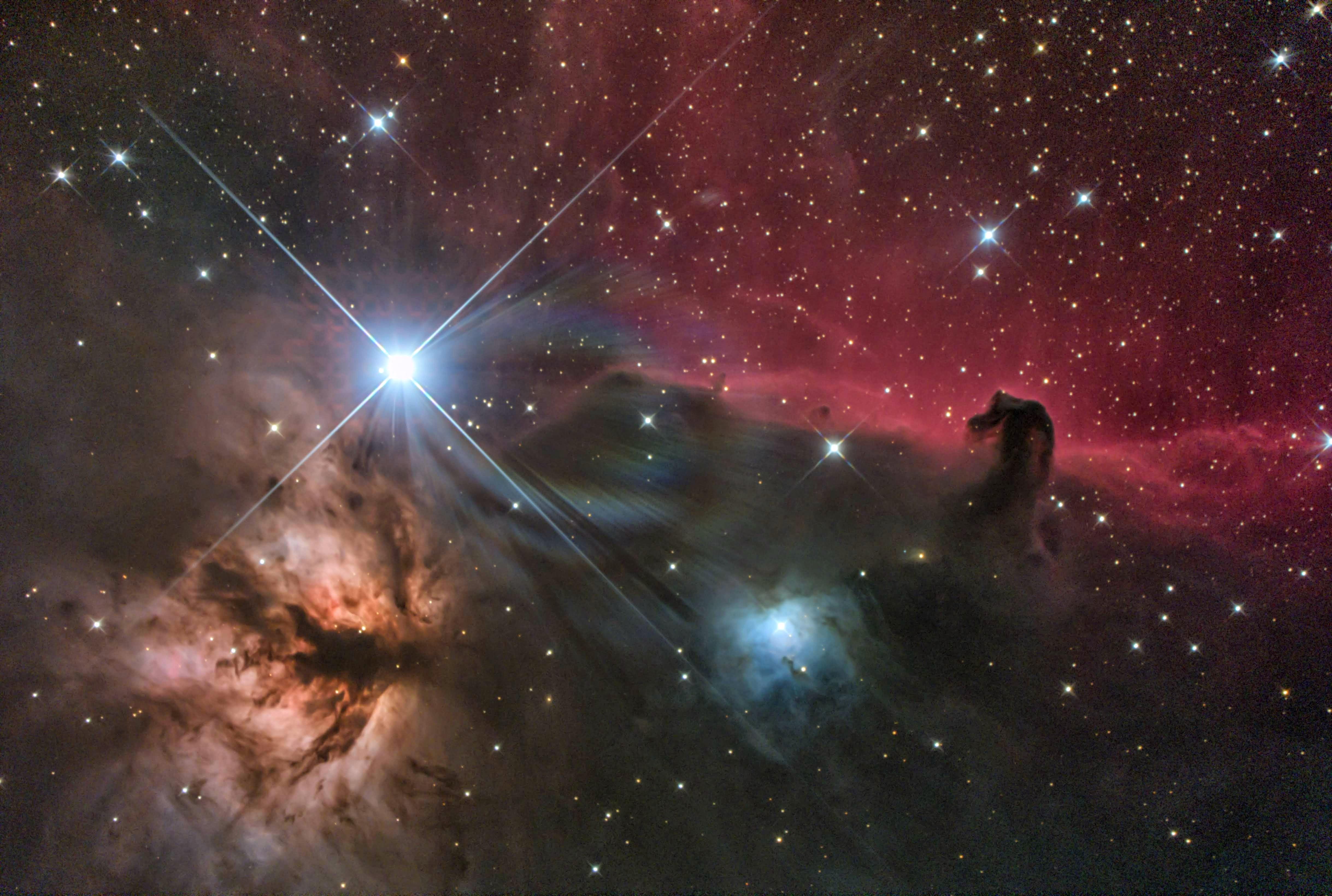20200201 熊野 馬頭星雲 u-250crs EOS6DN iso3200 300s c14 tDG arc2