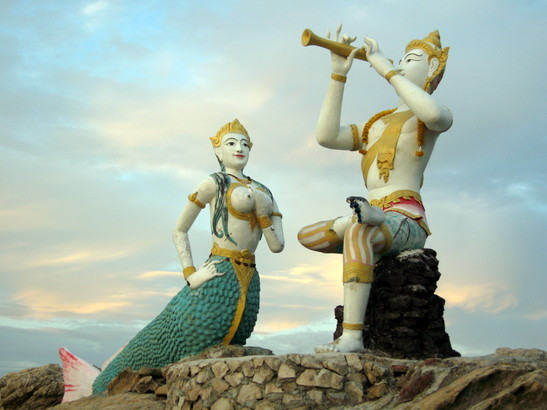 True Phra Aphai Mani and mermaid