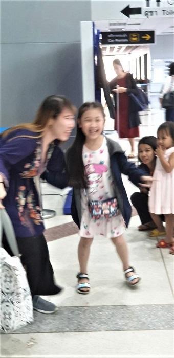 Arrival at Ubon airport (5)