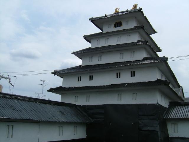 以前の小阪城