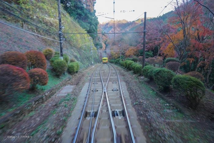 高尾山ケーブルカーDSC08777