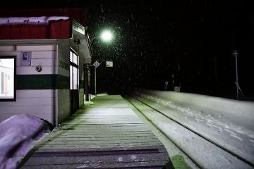 天塩川温泉駅2020冬(2)