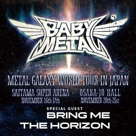 BABYMETAL日本ツアー専用の自由掲示板
