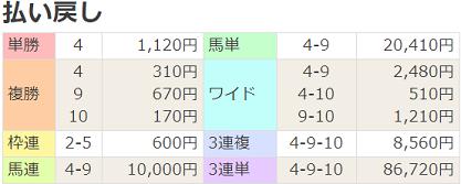 19阪神JF払戻
