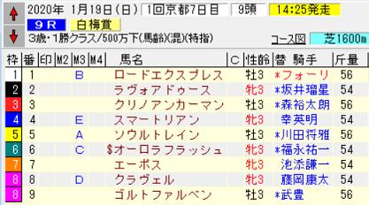20白梅賞