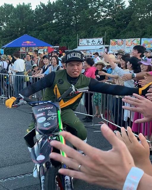 Red Bull Air Race 2019 Chiba FMX show 鈴木龍星選手20190908