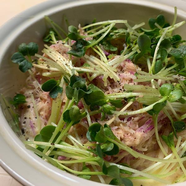 紫大根サラダ