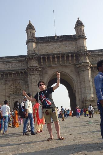 ムンバイにやってきました