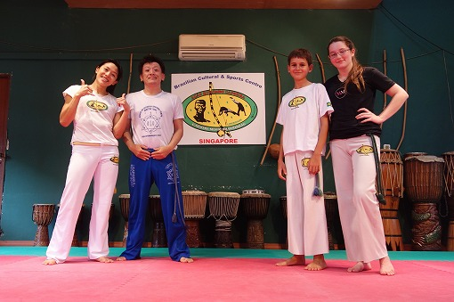 ACAO QUILOMBO CAPOEIRA SINGAPOREのみなさんと