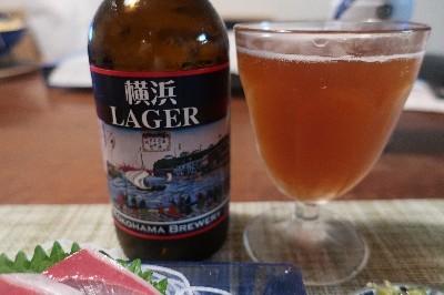 横浜ラガービール