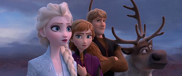 映画アナと雪の女王2