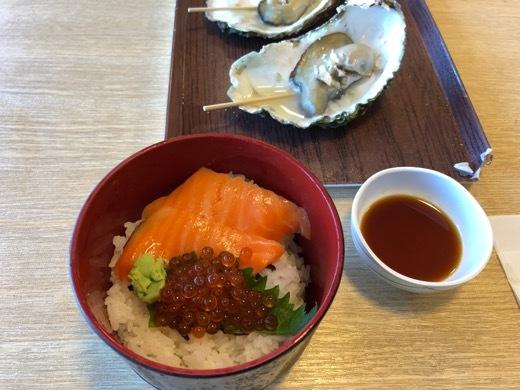 三陸旅行 浄土ヶ浜 昼食