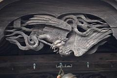 不動堂彫刻1