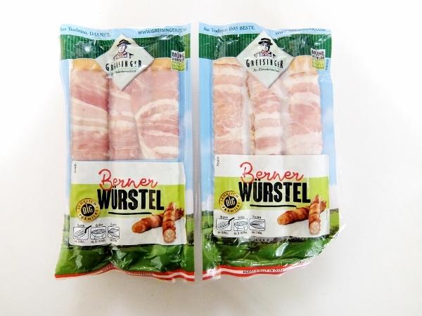 コストコ ◆ Frank W/Bacon GREISINGER チーズ入りベーコン巻きフランク 688円也 ◆