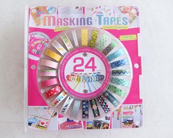 コストコ ◆ マスキングテープ 24PK 1,898円也 ◆ マステ レポブログ