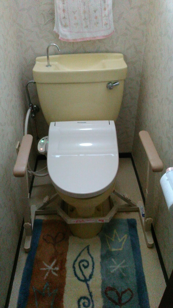 実家のトイレ