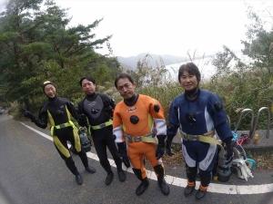 本栖湖ダイビング (1)