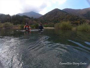 2秋の本栖湖ダイビング11月湧水 (6)