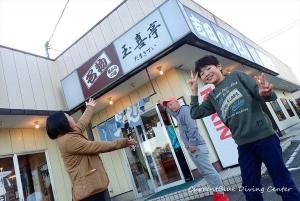 5本栖湖ダイビング吉田うどん (2)