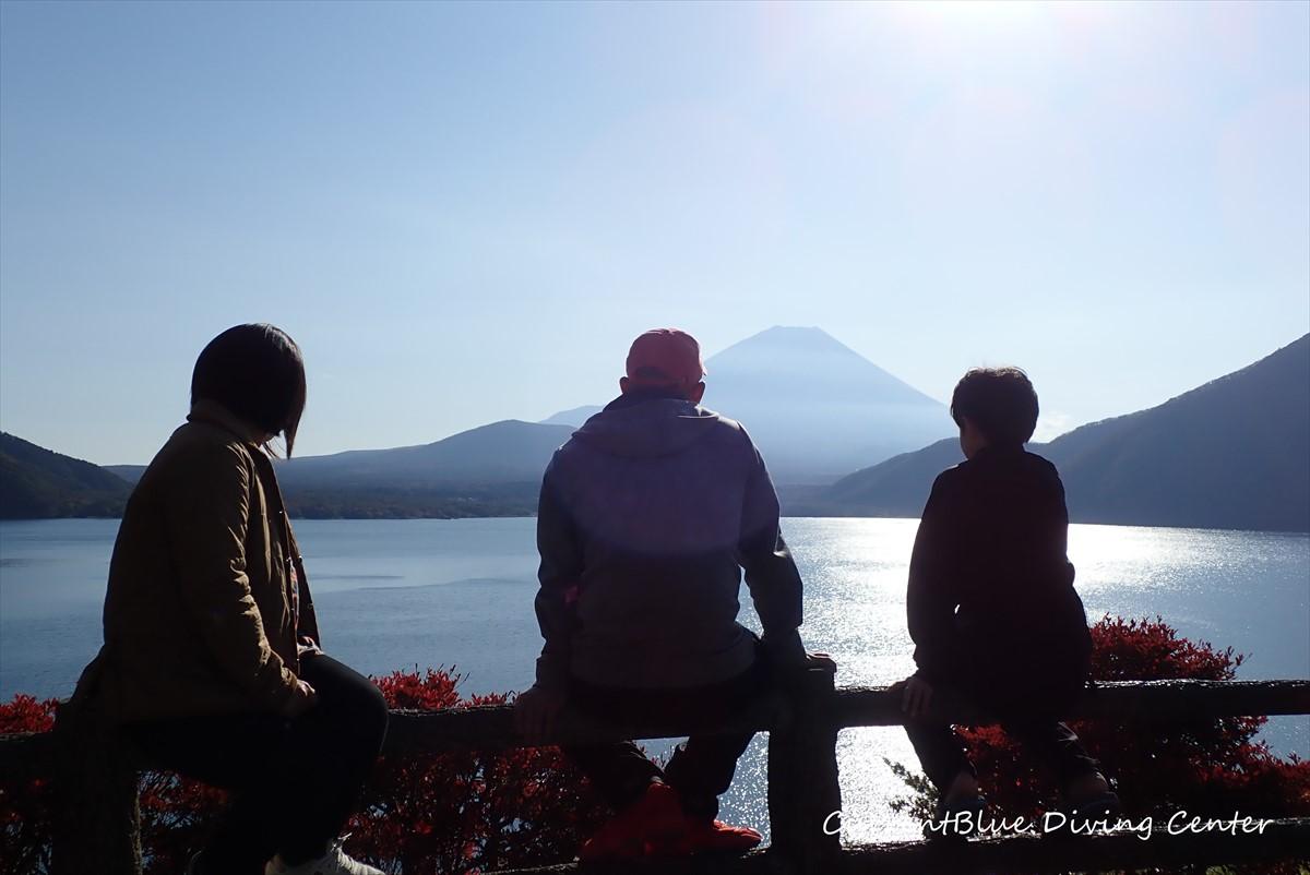 1本栖湖ダイビング富士山ダイビング西白井 (1)