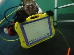 ダイビングライセンス取得コースプール実習自社プール (3)