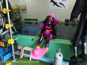 プールダイブ,ダイビングスキルプールレッスン,千葉ダイビングインストラクターコース (4)
