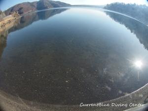 本栖湖冬ダイビング,本栖湖2月 (2)