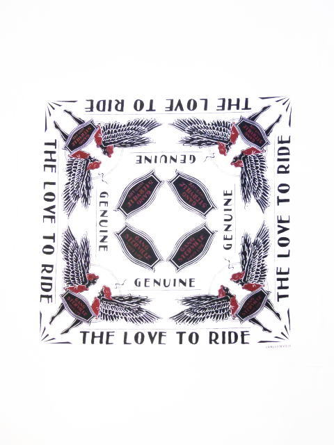 GANGSTERVILLE LOVE TO RIDE-BANDANA