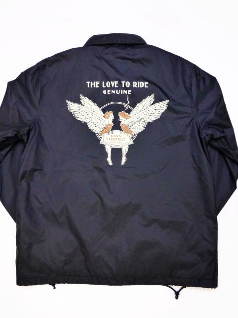 GANGSTERVILLE LOVE TO RIDE-COACHES JACKET