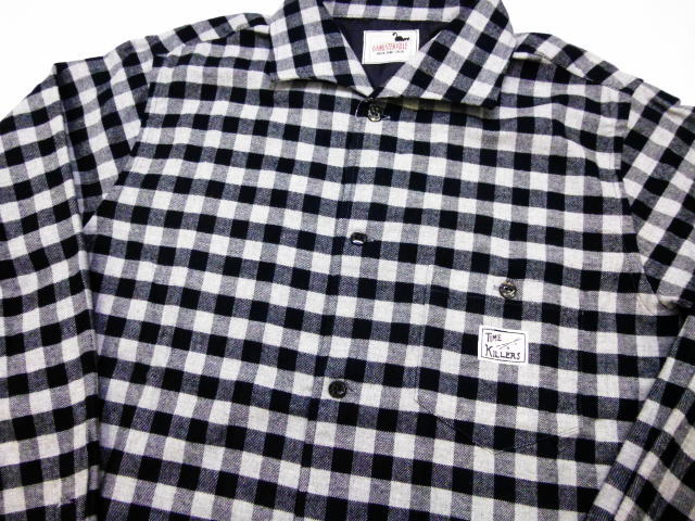 GANGSTERVILLE THUG-L/S CHECK SHIRTS